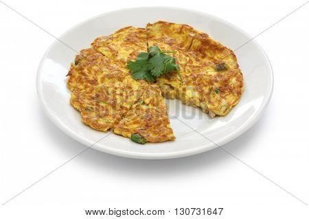 taiwanese dried radish omelet