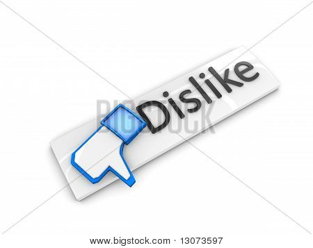 Dislike Web Button