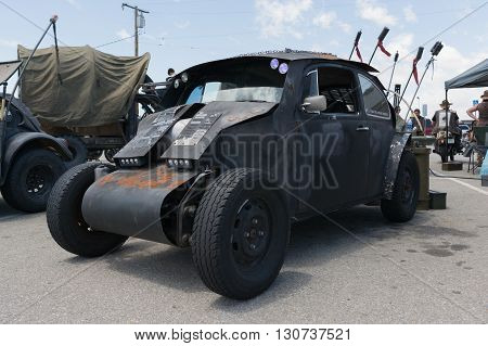 Volkswagen Beetle Post-apocalyptic Survival Vehicle