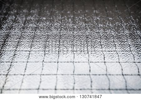 Abstract background from striped texture in dust