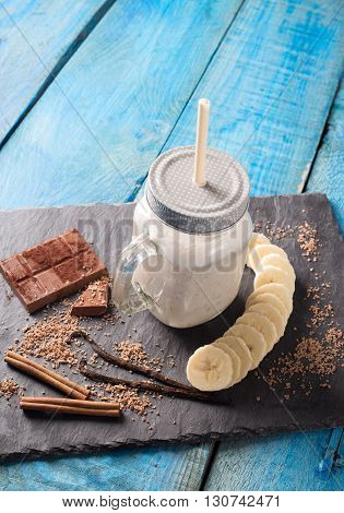 Banana Smoothies With Milk