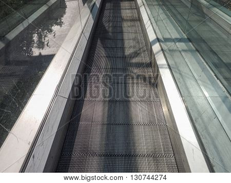 Escalator Stair Detail