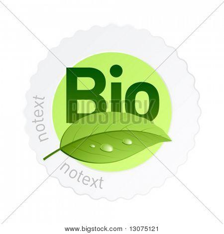Vector bio label