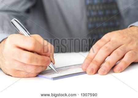 Writing A Check
