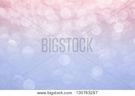 Abstract blurred background. Pink background. Rose quartz color serenity color trend color background. Bokeh.