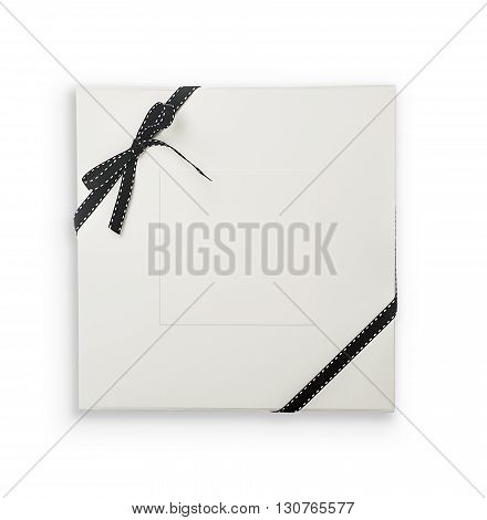 White Giftbox With Clipping Path