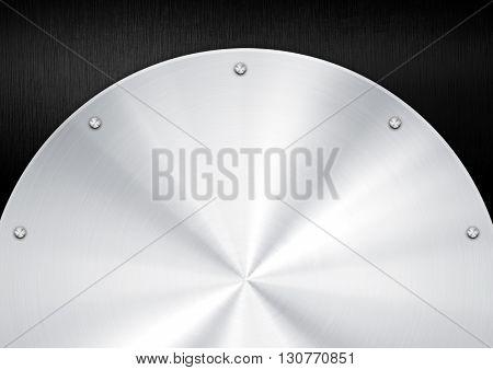 silver metal pattern background