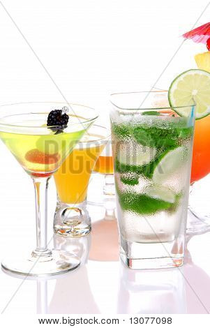 Popular Cocktails With Alcoho