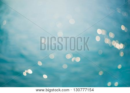 Blurred sea background Nature abstract background .