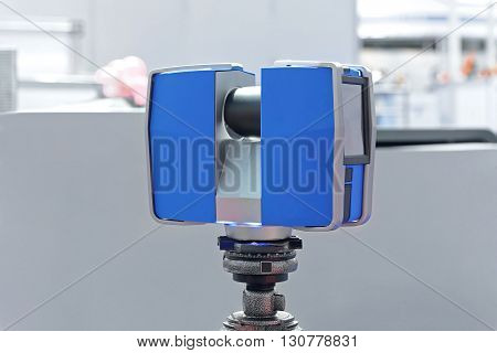 Portable 3d Laser Scanner Device at Tripod