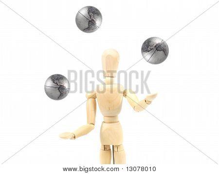 Juggling Manikin