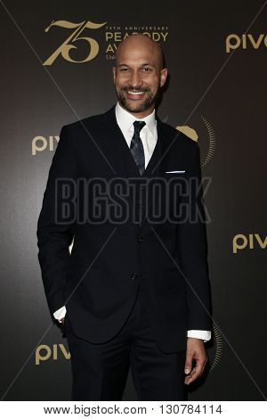 NEW YORK-MAY 21: Keegan-Michael Key attends the 75th Annual Peabody Awards Ceremony at Cipriani Wall Street on May 21, 2016 in New York City.