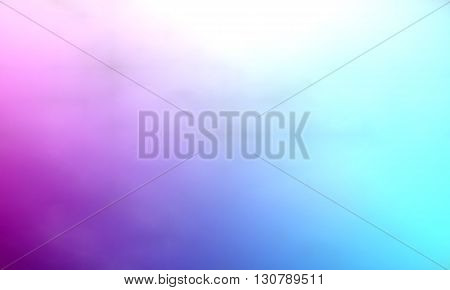 Background paint stains multicolored smoke. Watercolor smoky. Watercolor background. Purple-blue color.
