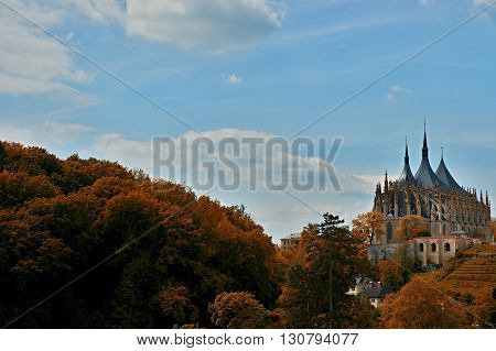 Cathedral In Kutna Hora - Protected By Unesco