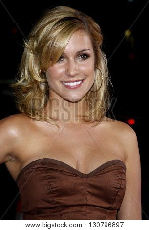 Kristin Cavallari at the Los Angeles premiere of 'Eagle Eye' held at the Grauman's Chinese Theater in Hollywood, USA on September 16, 2008.