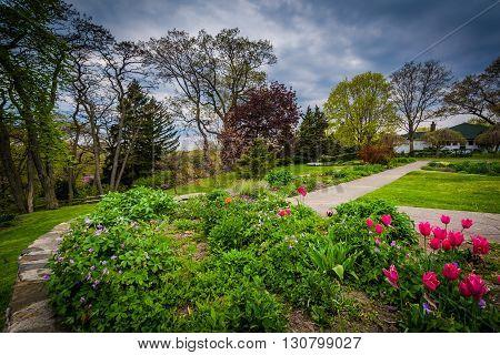 Gardens At High Park, In Toronto, Ontario.