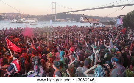 Color Up Run In Istanbul