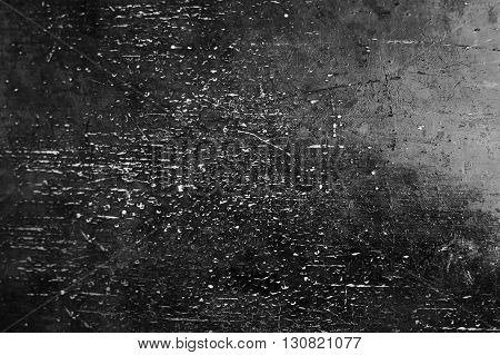 Black Grunge Background / Black Wall Texture with scratches