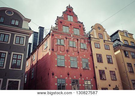 Stortorget place in Gamla stan Stockholm, Sweden