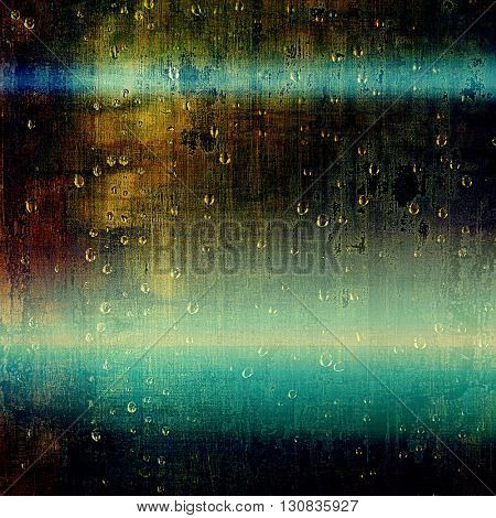 Grunge scratched background, abstract vintage style texture with different color patterns: yellow (beige); brown; green; blue; black