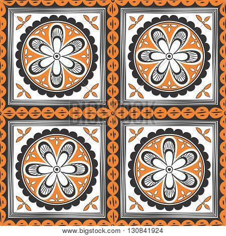 Seamless ethnic pattern. Decorative ornament for fabric textile wrapping paper card invitation wallpaper web design;