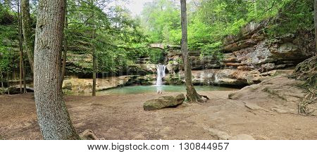 The Upper Falls in Hocking Hills State Park, Ohio