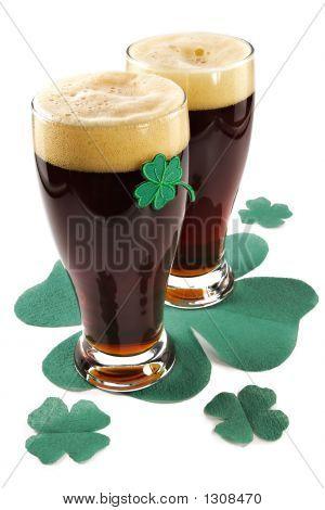 Dark Irish Beer For St Patick'S Day