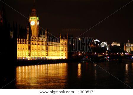 Big Ben And Parliament At Night