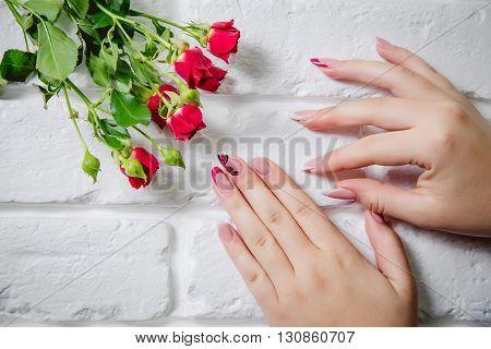 Stylish Women's Manicure, Beauty, Fashion