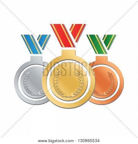High Quality Medal vector illustration eps 10