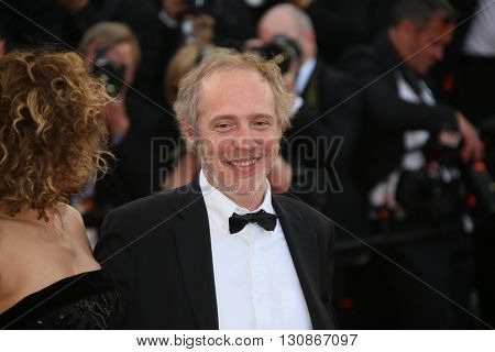 Arnaud Desplechin attends 'The Last Face' Premiere during the 69th annual Cannes Film Festival at the Palais des Festivals on May 20, 2016 in Cannes, France.