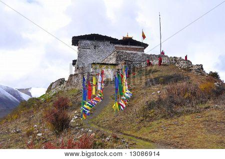 Linghzi dzong / fortress, Bhutan