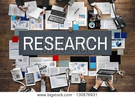 Research Exploration Facts Feedback Information Concept
