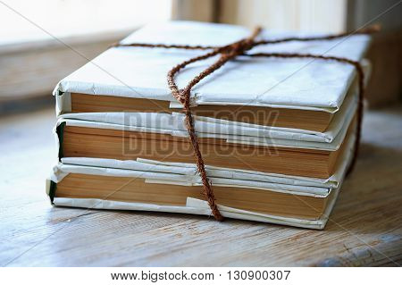 bunch of books related to old rope