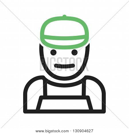 Mechanic, car, service icon vector image. Can also be used for car servicing. Suitable for use on web apps, mobile apps and print media.