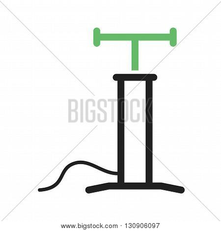 Car, air, pump icon vector image. Can also be used for car servicing. Suitable for use on web apps, mobile apps and print media.