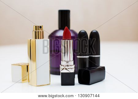 Perfume And Lipstick