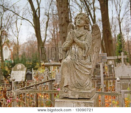 Angel On An Orthodox Cemetery