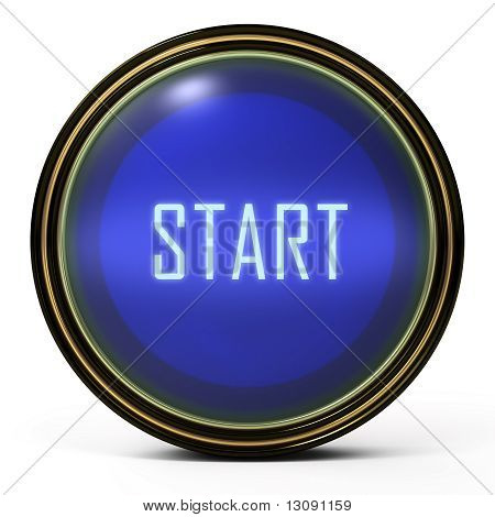 Black Gold button Start