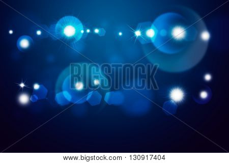 Blue light beam. Abstract background for design