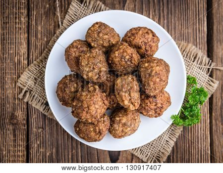 Meatballs (fresh Made)