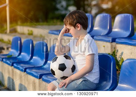 Small Football Fans Disappointed