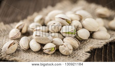 Roasted Pistachios (selective Focus)