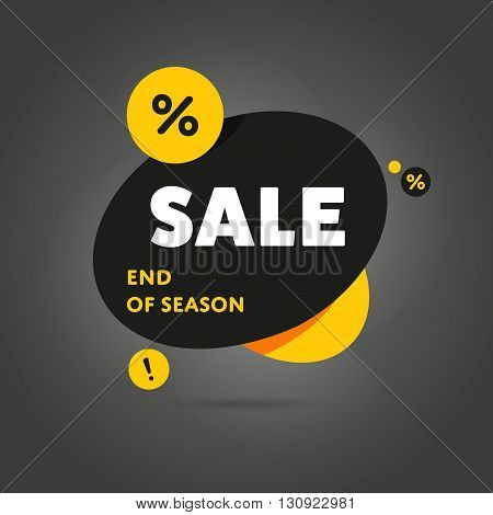 Exclusive Sale vector banner. Sale tag. Sale background. Sale coupon. Sale vector. Big sale. Sale tag. Super Sale and special offer. Sale. Modern flat vector illustration