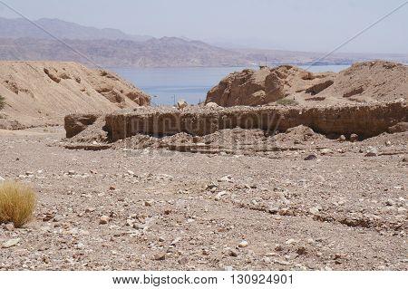Wadi Shahamon near Eilat in South Israel