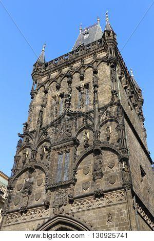 Tower of the Charles Bridge in Prague