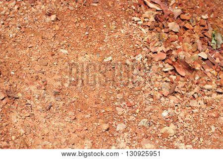 Brown Gravel Stone Background