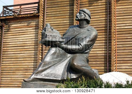 Monument to Yaroslav the Wise in Kiev, Ukraine