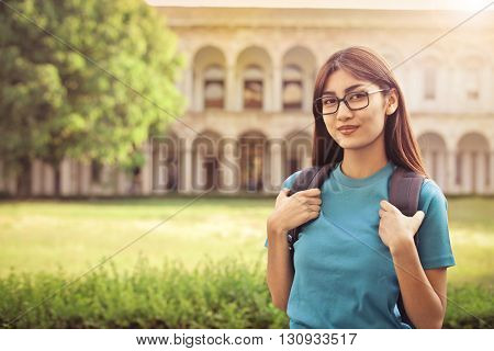 Student at the university