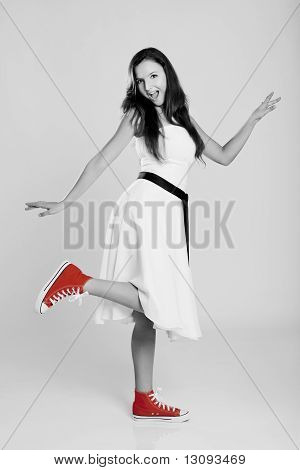 Red Shoes Girl